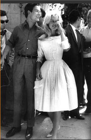 Brigitte Bardot   s legendary gingham wedding dress Brigitte Bardot Dress