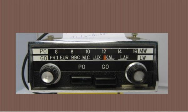 Autoradio d 39 epoca ma moderna - Poste radio pour cuisine ...