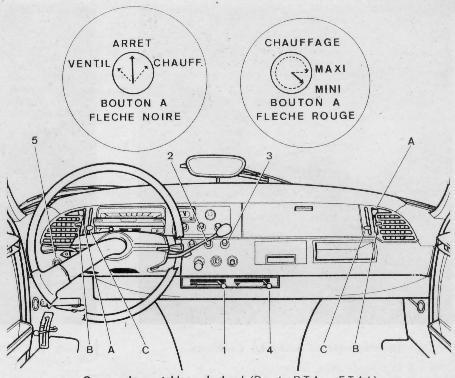 option chauffage 20 pour ds id 1967. Black Bedroom Furniture Sets. Home Design Ideas